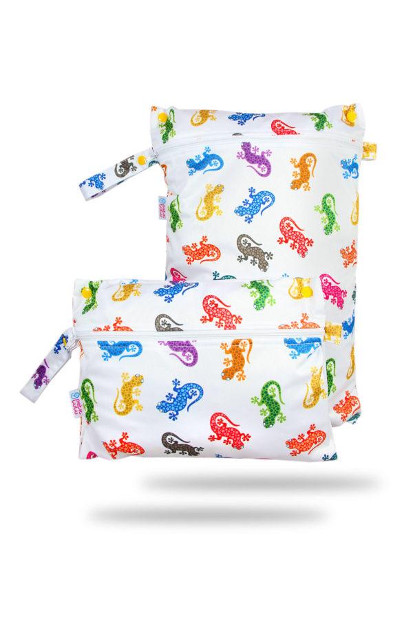 Produktbild 102095 Gecko-Petit-lulu-Nasstasche-Wetbag-Nappybag2