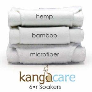 Kanga Kare - Einlagen (6er Soaker)