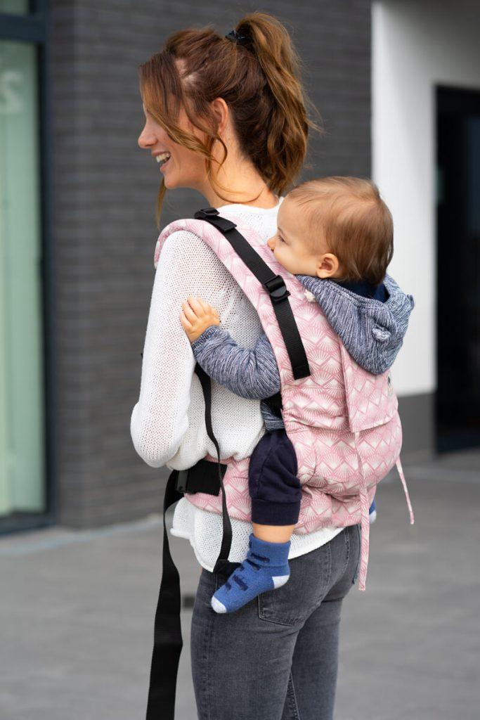 Tragen Babytrage Schwangerschaft
