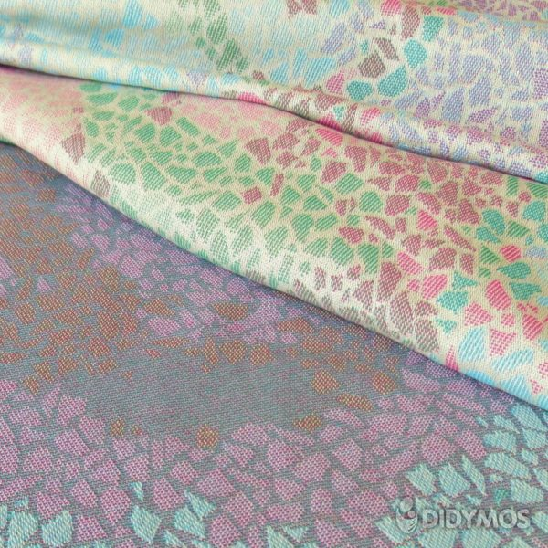 Stoffmuster Didymos_Muster_Sommer-mosaik_60263-02