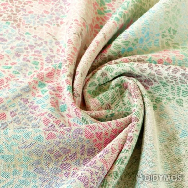 Stoffmuster Didymos Muster Sommer-mosaik_60263-05