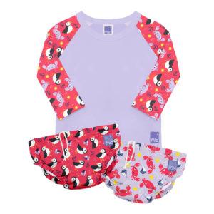 Produktbild SWSET NIC Bambino Mio Schwimm-Set Schoen Produkt Schwimm-Shirt mit 2 Schwimmhoeschen