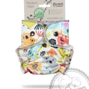 Produktbild 101873 Petit Lulu Hoeschenwindel Neugeborene-Organic-Koalas