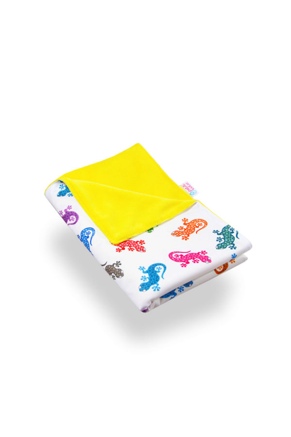 Produktbild 102090 Gecko-Wickelunterlage-petit-lulu bunte Gecko